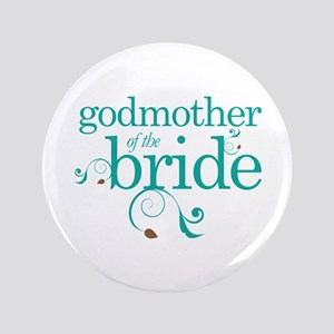 Godmother Of The Bride gift Button