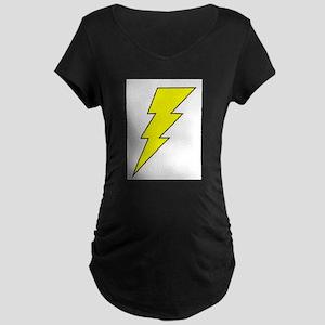 The Lightning Bolt 8 Shop Maternity Dark T-Shirt