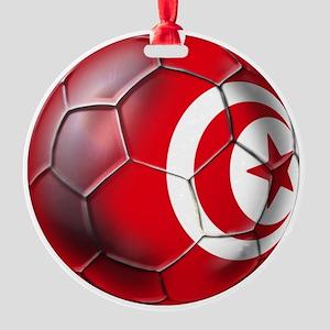 Tunisian Football Ornament