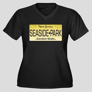 Seaside Park NJ Tag Apparel Plus Size T-Shirt