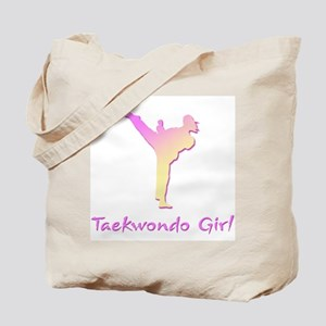 Taekwondo Girl 2 Tote Bag