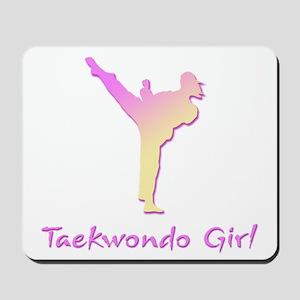 Taekwondo Girl 2 Mousepad