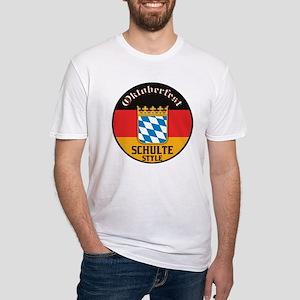 Schulte Oktoberfest Fitted T-Shirt