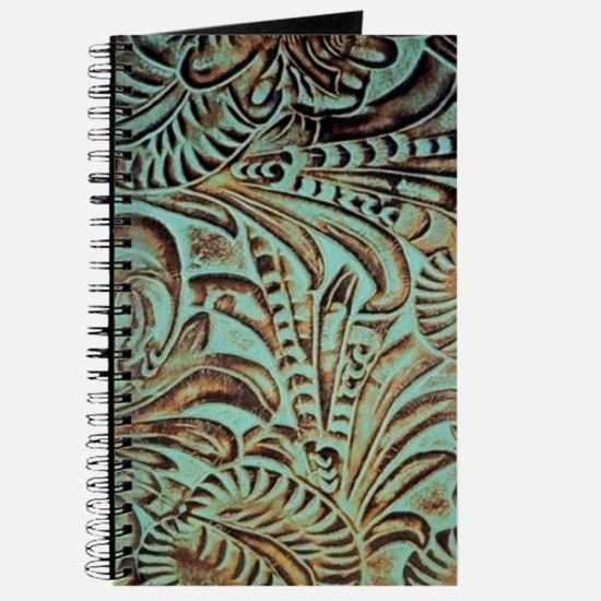 bohemian country western leather Journal