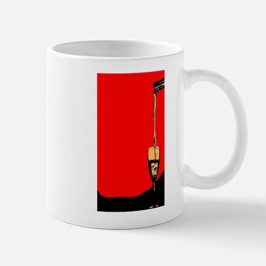 Pouring Wine Mugs