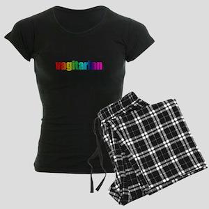 Vagitarian rainbow pajamas