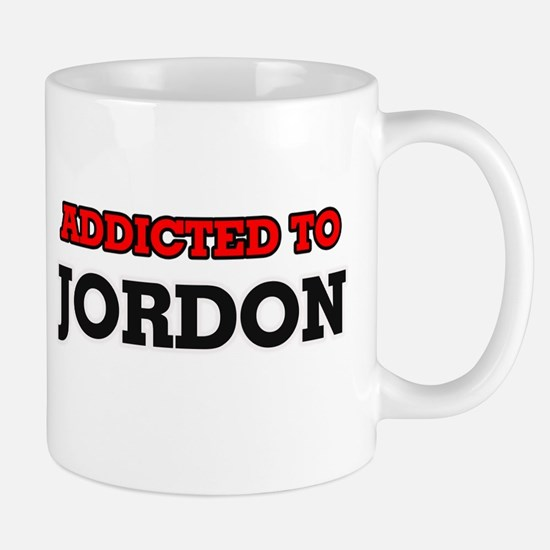 Addicted to Jordon Mugs