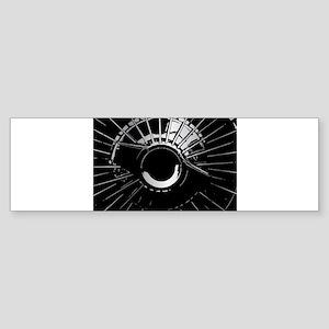 Wheel Hub Bumper Sticker