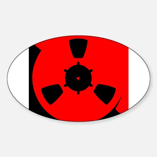 Reel of Tape Decal