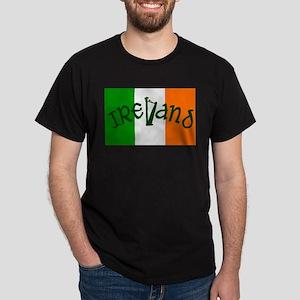 Irish Flag and Harp T-Shirt