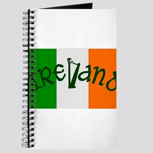 Irish Flag and Harp Journal