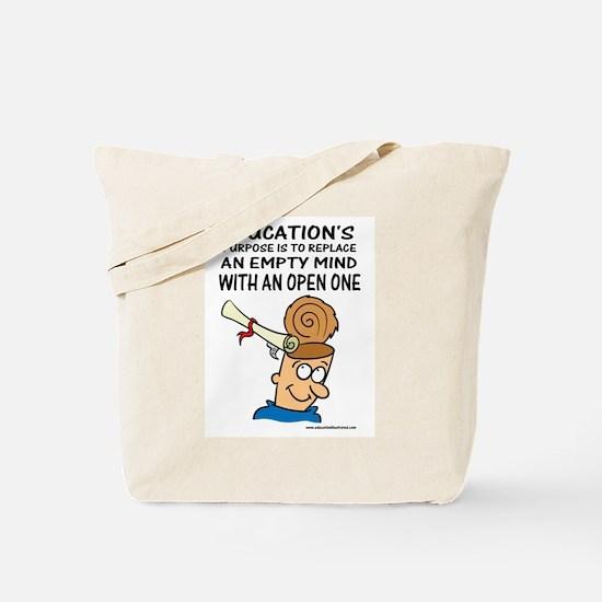 Creates Open Minds Tote Bag