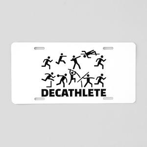Decathlete Aluminum License Plate