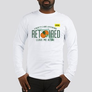 Funny Florida Retired License Long Sleeve T-Shirt