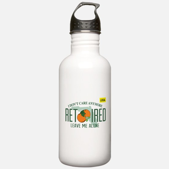 Funny Florida Retired Water Bottle