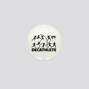 Decathlete Mini Button