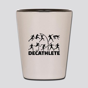 Decathlete Shot Glass