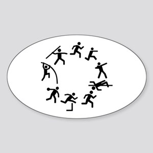 Decathlon Sticker (Oval)