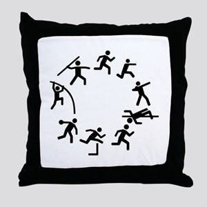 Decathlon Throw Pillow