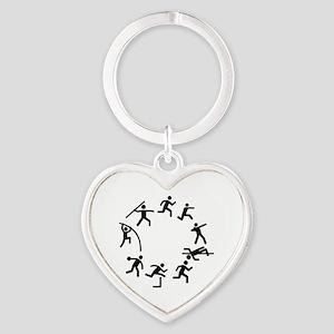 Decathlon Heart Keychain