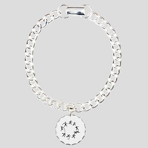 Decathlon Charm Bracelet, One Charm