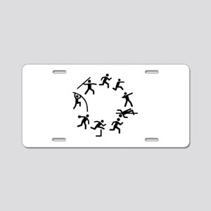 Decathlon Aluminum License Plate