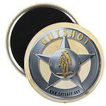 """Gutshot Badge 2.25"""" Magnet (100 pack)"""
