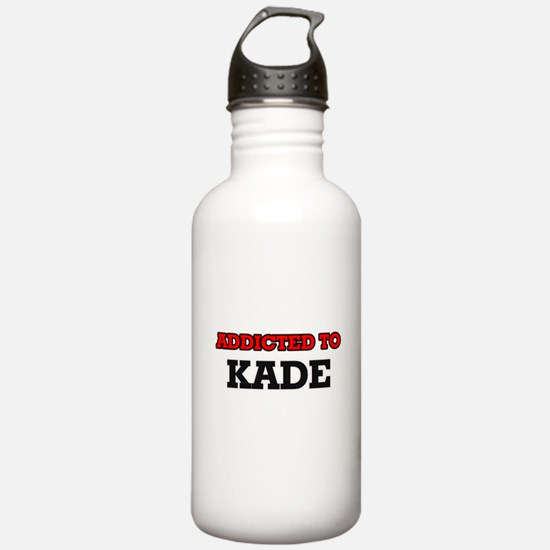 Addicted to Kade Water Bottle