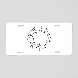 Decathlon Aluminum License Plate