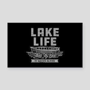 Pi Kappa Alpha Lake Rectangle Car Magnet