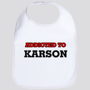 Addicted to Karson Bib