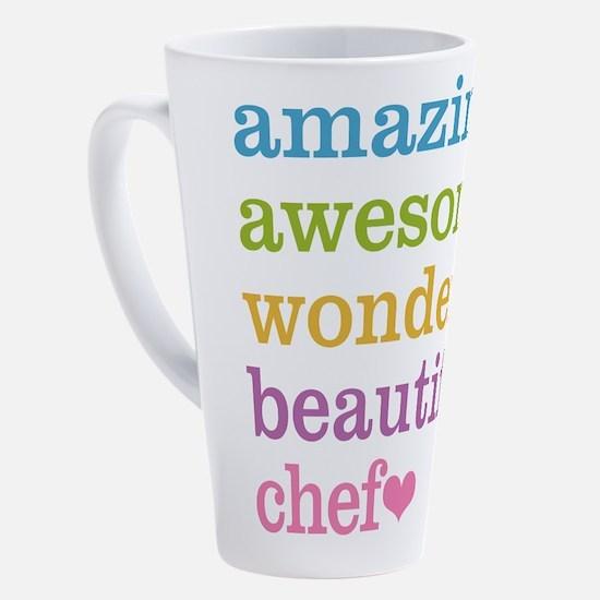 Cute Catering 17 oz Latte Mug