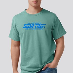 All I Care About is Star Mens Comfort Colors Shirt