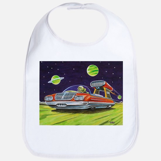 SPACE CAR Bib