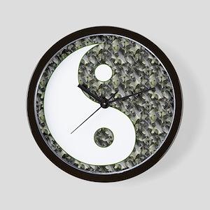 Yoga Style Wall Clock