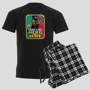 Classic Luke Cage Wall Break Men's Dark Pajamas