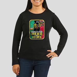 Classic Luke Cage Women's Long Sleeve Dark T-Shirt