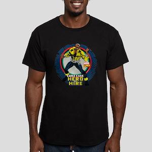 Luke Cage Classic Grun Men's Fitted T-Shirt (dark)