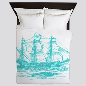 Clipper Ship Queen Duvet