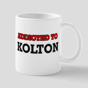 Addicted to Kolton Mugs