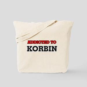 Addicted to Korbin Tote Bag