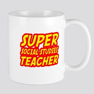 Super Social Studies Teacher Mugs