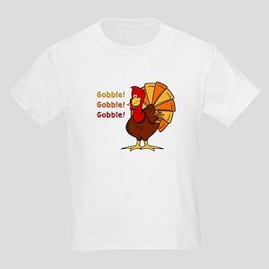 Gobble Turkey Kids Light T-Shirt