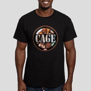 Luke Cage Badge Men's Fitted T-Shirt (dark)