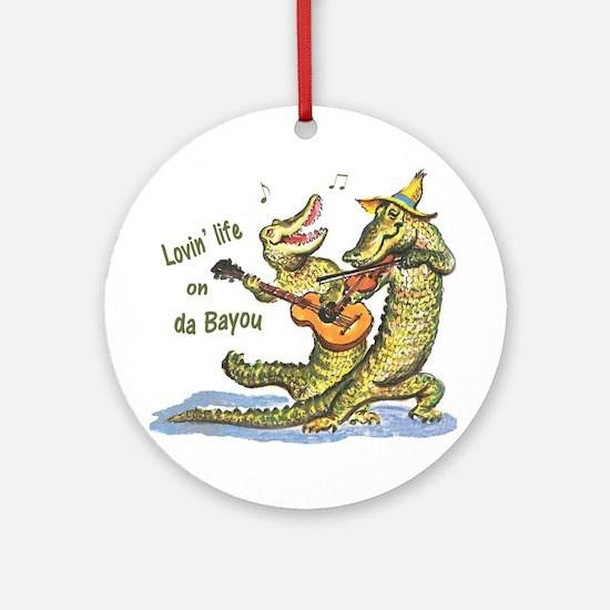 On da Bayou Round Ornament