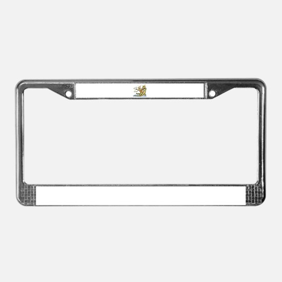 On da Bayou License Plate Frame