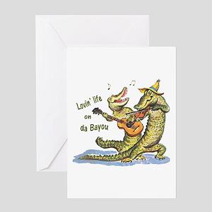 On da Bayou Greeting Cards