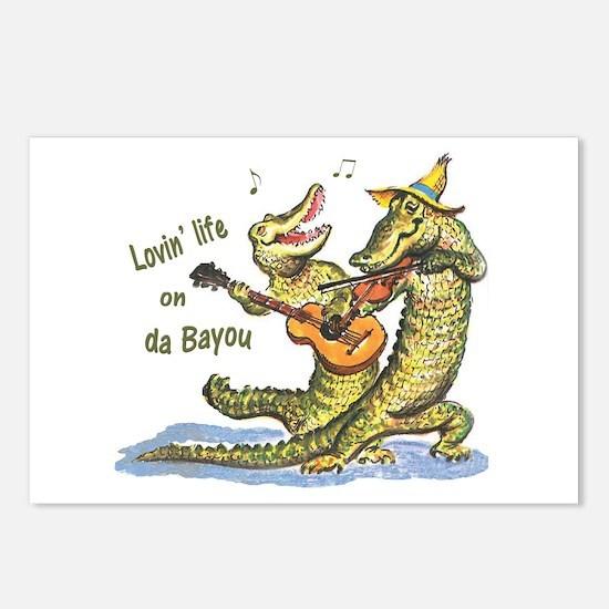 On da Bayou Postcards (Package of 8)