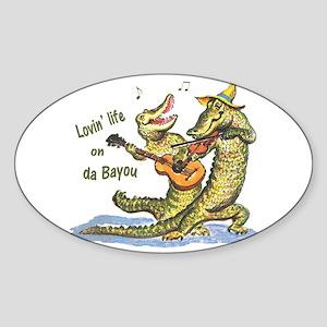 On da Bayou Sticker