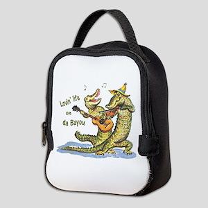 On da Bayou Neoprene Lunch Bag